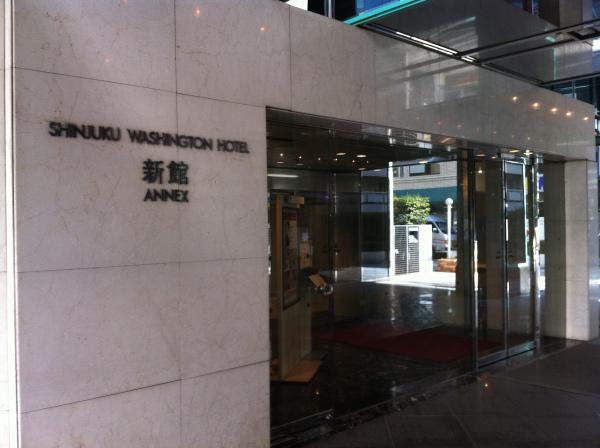 新宿駅首吊り写真